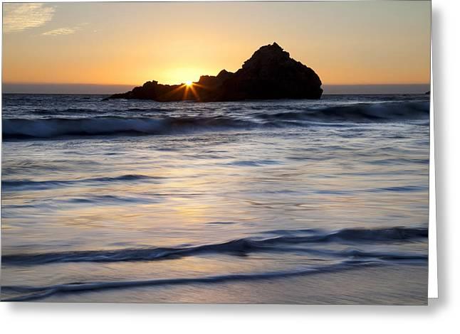 Pfeiffer Beach Sunset II Greeting Card