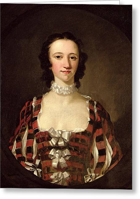 Pg 1162 Flora Macdonald, 1747 Greeting Card