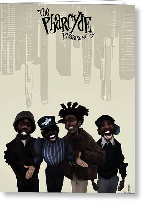 Pharcyde -passing Me By 1 Greeting Card