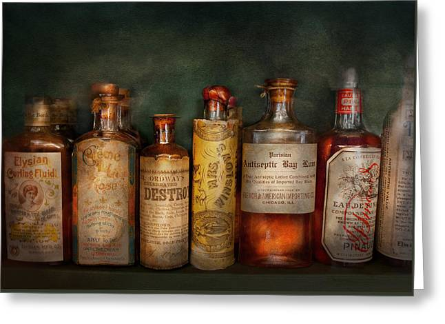 Pharmacy - Daily Remedies  Greeting Card