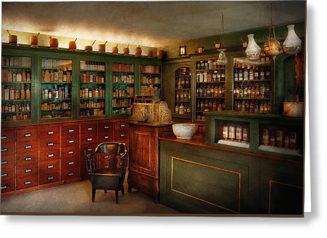 Pharmacy - Patent Medicine  Greeting Card