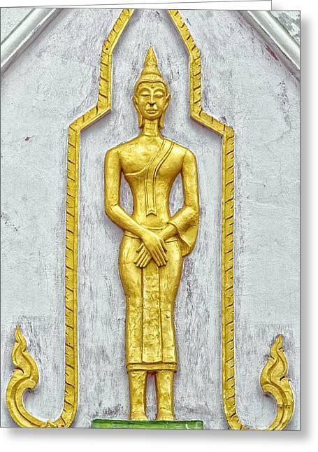Phetchaburi Temple 11 Greeting Card by Antony McAulay
