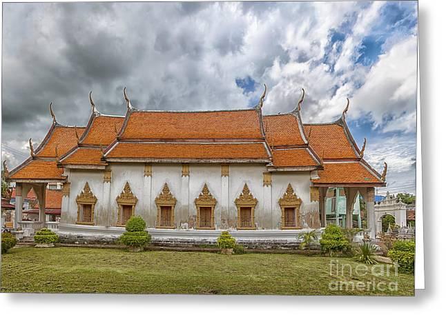 Phetchaburi Temple 21 Greeting Card by Antony McAulay