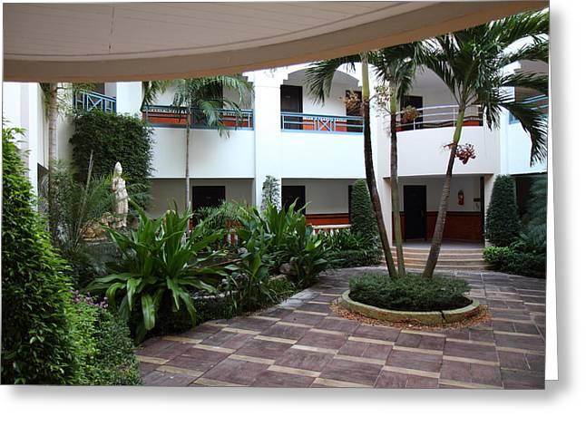Phi Phi Cabana Hotel - Phi Phi Island - 01132 Greeting Card by DC Photographer