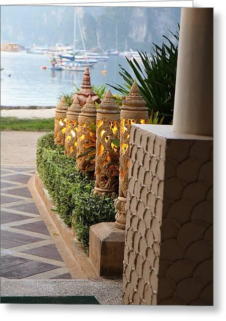 Phi Phi Cabana Hotel - Phi Phi Island - 01134 Greeting Card by DC Photographer