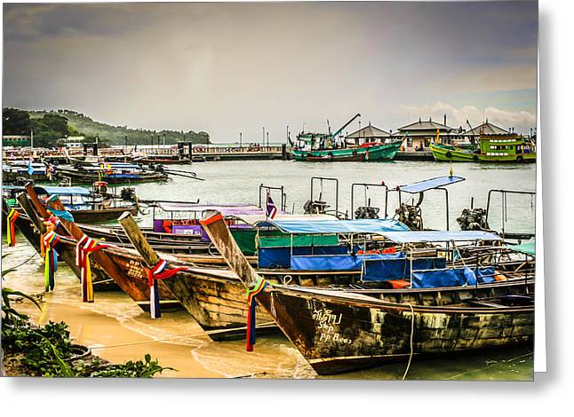 Greeting Card featuring the photograph Phi Phi Island by Rob Tullis