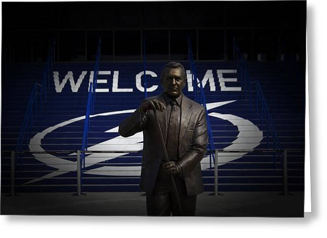 Phil Esposito Says II Greeting Card