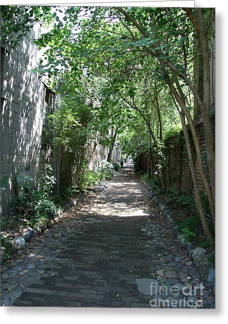 Philadelphia Alley  Greeting Card