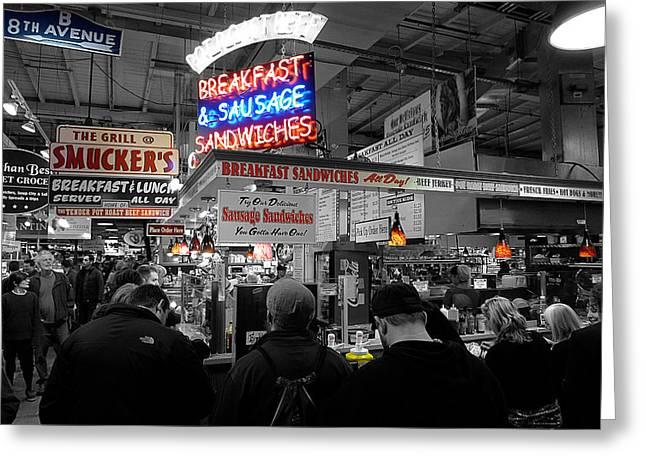 Philadelphia - Breakfast At Smucker's Greeting Card