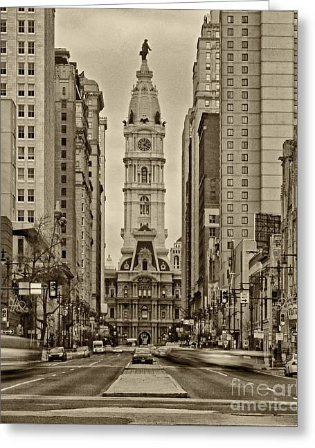 Philadelphia City Hall 2 Greeting Card by Jack Paolini