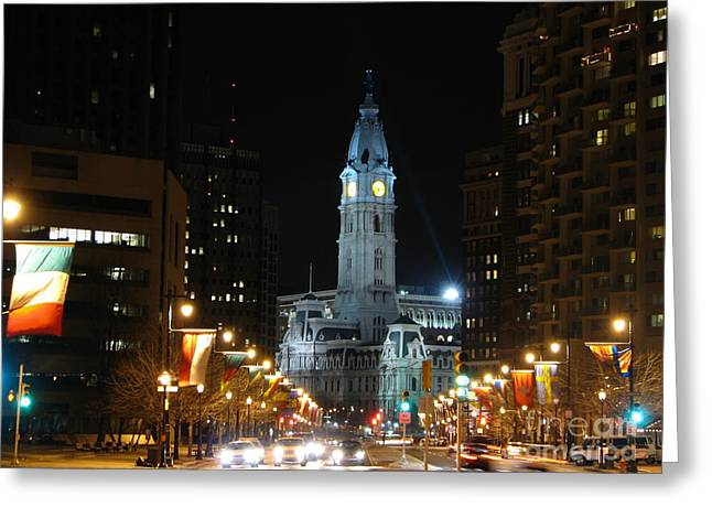 Philadelphia City Hall Greeting Card