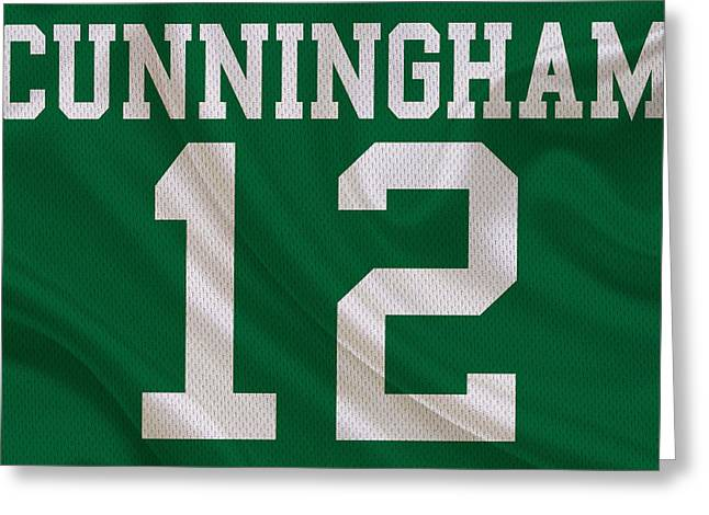 Philadelphia Eagles Randall Cunningham Greeting Card