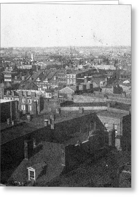 Philadelphia Market, 1859 Greeting Card by Granger