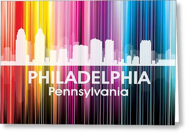 Philadelphia Pa 2 Greeting Card