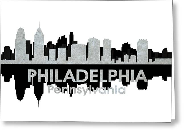 Philadelphia Pa 4 Greeting Card by Angelina Vick