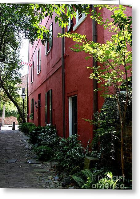 Philadelphia Pathway In Charleston Greeting Card