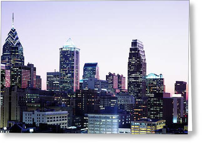 Philadelphia, Pennsylvania, Usa Greeting Card