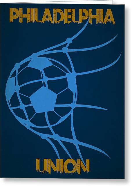 Philadelphia Union Goal Greeting Card by Joe Hamilton