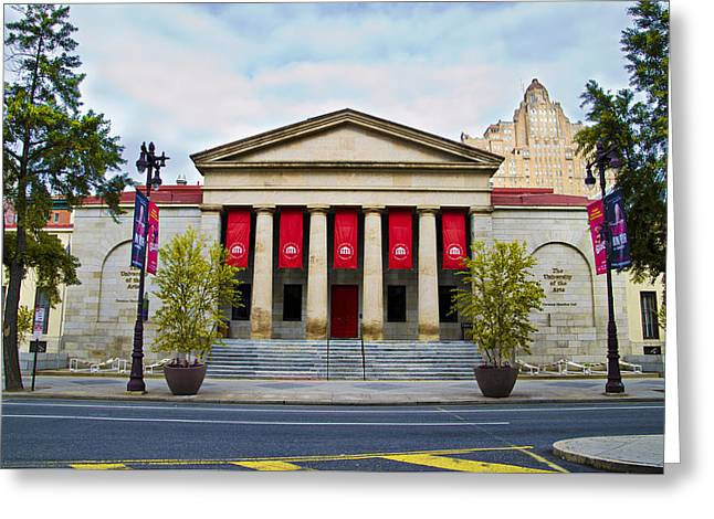Philadelphia University Of The Arts Greeting Card by Bill Cannon