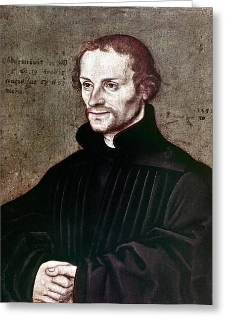 Philip Melanchthon Greeting Card