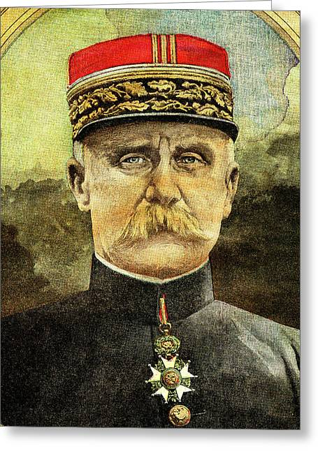 Philippe Petain Greeting Card by Collection Abecasis