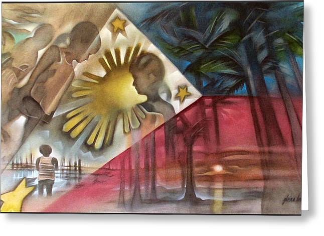Philippine Flag 2006 Greeting Card