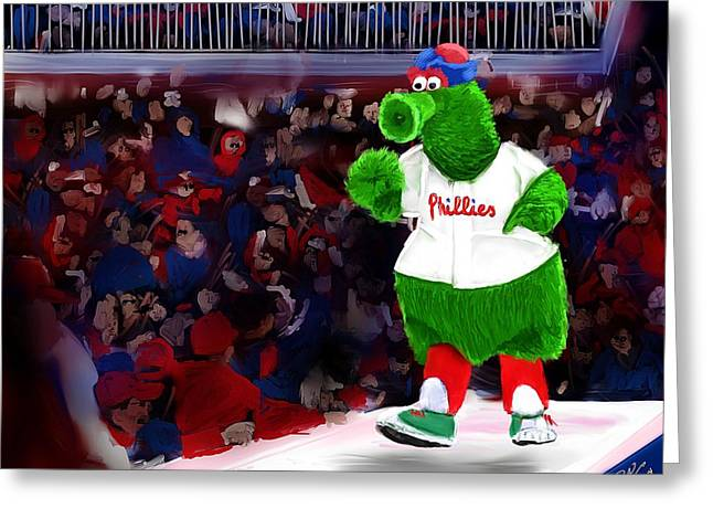 Philly Phanatic Greeting Card