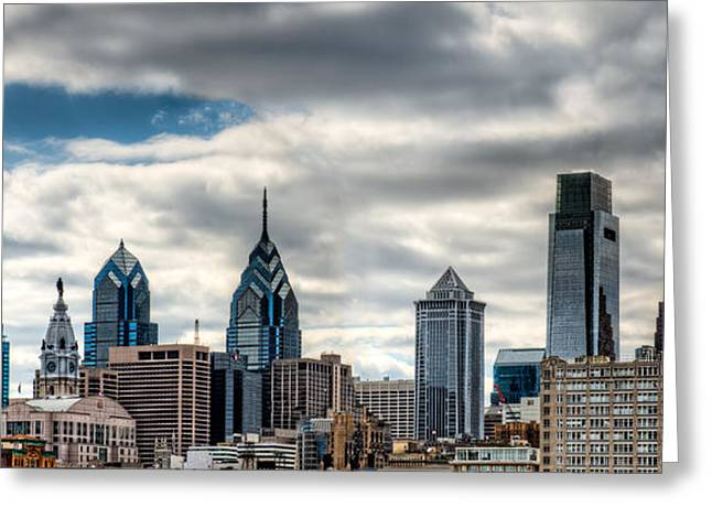 Philly From The East Greeting Card