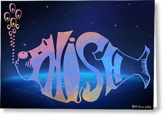 Phish Greeting Card by Bill Cannon