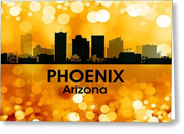 Phoenix Az 3 Greeting Card by Angelina Vick