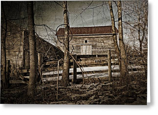 Country Barn Photograph Greeting Card