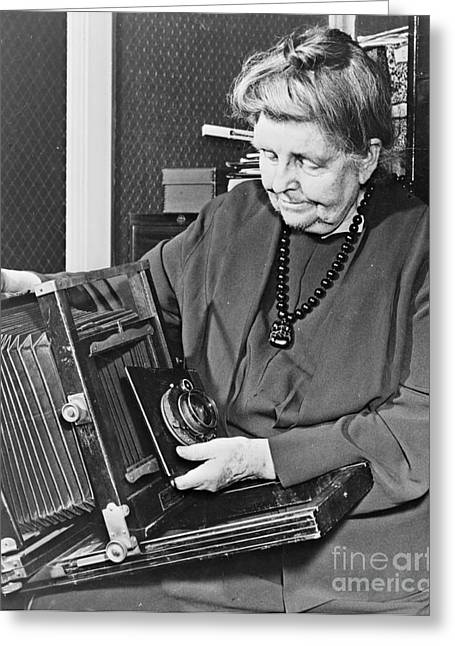 Photographer Frances Johnston 1950 Greeting Card by Padre Art