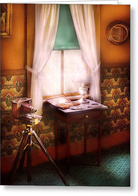 Photography - Creative Pursuits Greeting Card by Mike Savad
