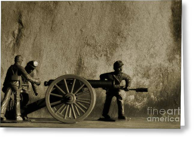 Photos From The Front Civil War One Greeting Card by Randy Steele