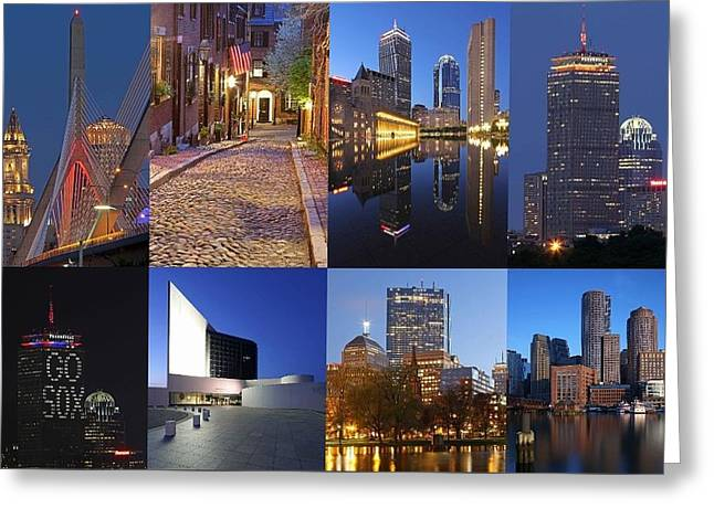 Photos Of Boston Greeting Card by Juergen Roth