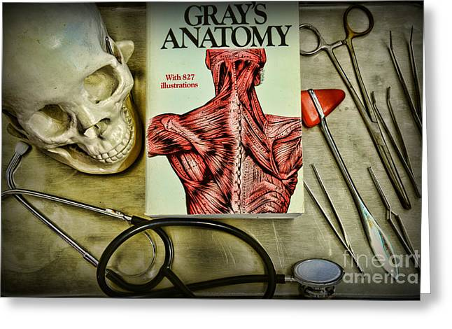 Physician - Tools Of The Trade Greeting Card by Paul Ward