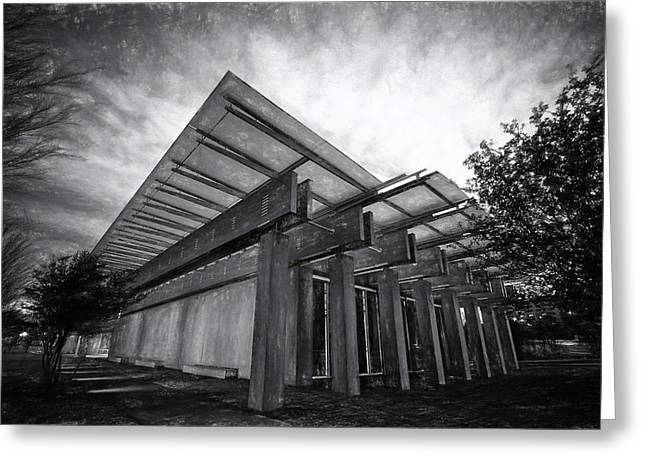 Piano Pavilion II Greeting Card