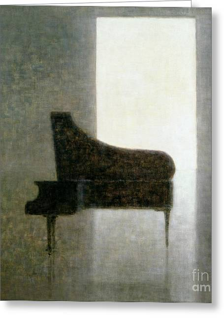 Piano Room 2005 Greeting Card
