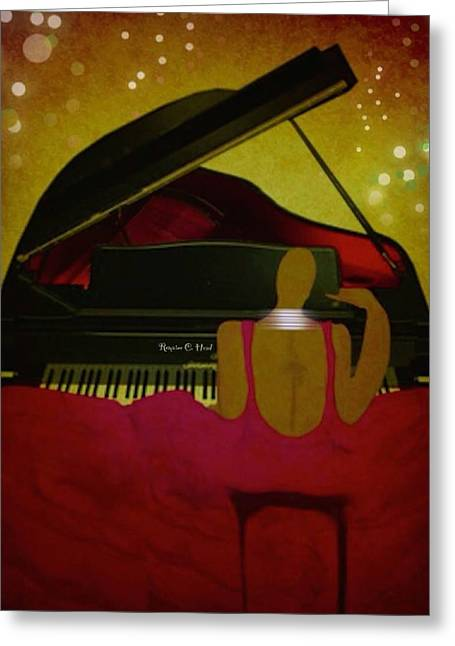 Pianochic Greeting Card