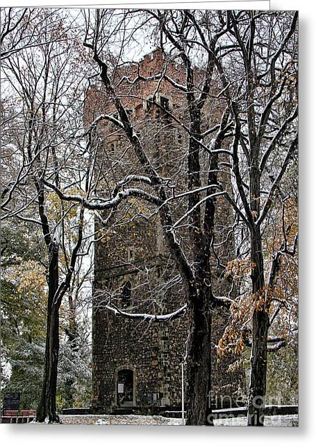 Piastowska Tower In Cieszyn Greeting Card