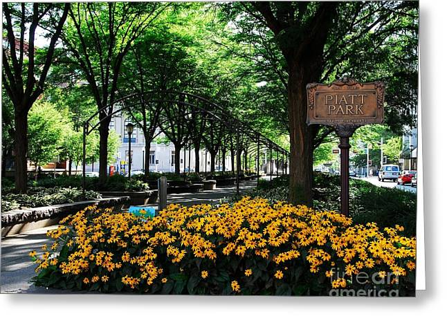 Piatt Park 1 Greeting Card