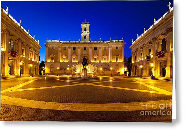 Piazza Campidoglio Greeting Card