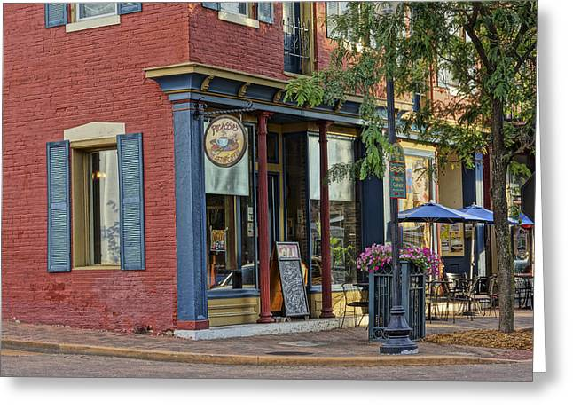 Picasso's N Main St Charles Mo Dsc00900  Greeting Card