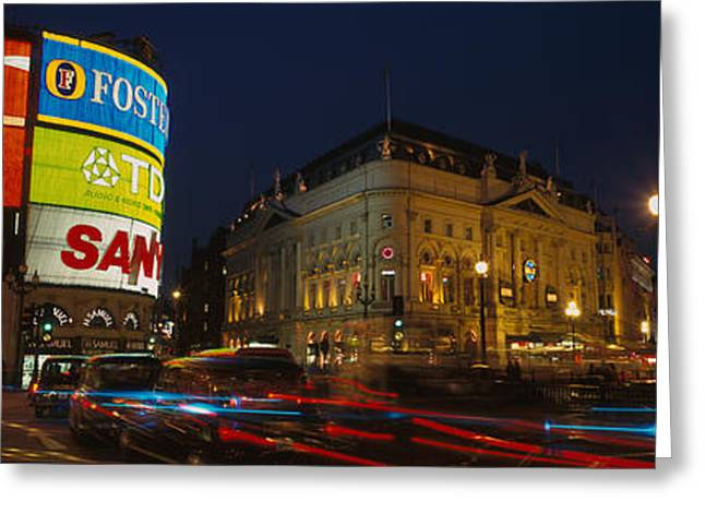 Piccadilly Circus, London, England Greeting Card