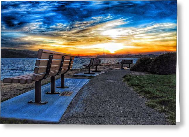Pick Your View Greeting Card by Brian Maloney