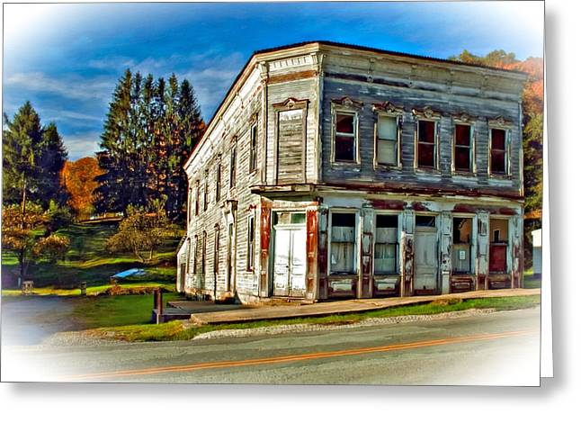 Pickens Wv Painted Greeting Card by Steve Harrington