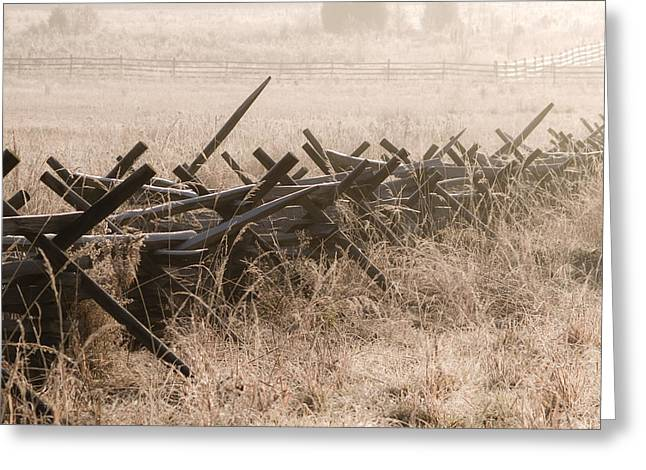 Pickett's Fence Greeting Card