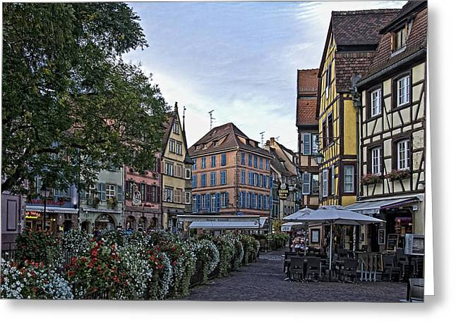 pictorial Colmar Greeting Card