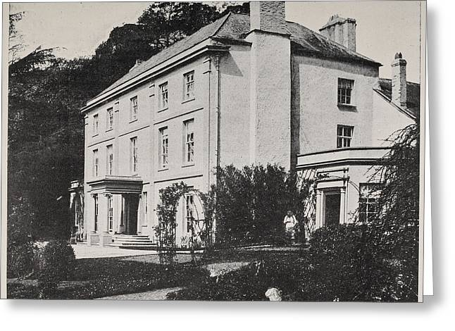 Picture Of Monmouthshire House Greeting Card by British Library