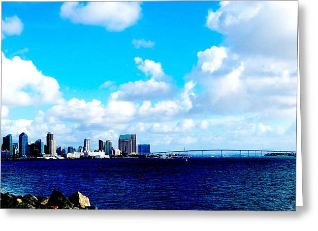 Picture Perfect San Diego Greeting Card by William  Dorsett